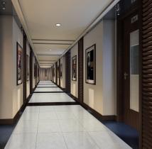 Ambiente de pasillo clásico