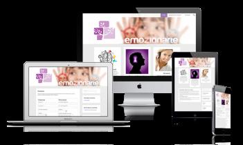 Diseño página web presencial Emozionarte.es