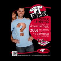 Cartel Concurso diseño de camisetas
