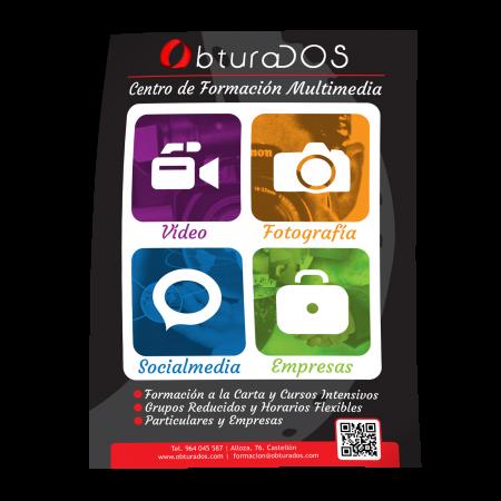 Cartel de formacion multimedia