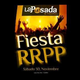 Cartel fiesta RRPP