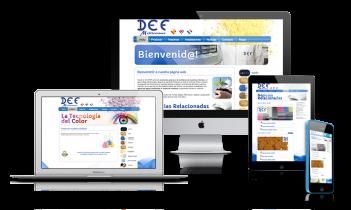 Diseño web DEFMediterraneo.com