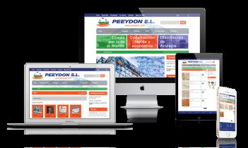 Creación de Catálogo on-line PEEYDON.com