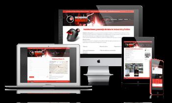 Diseño web presencial para Soldaduras Álvarez