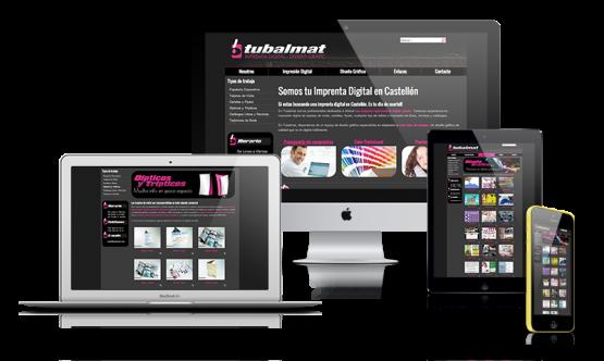 Diseño web Tubalmat
