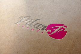 Diseño de logotipo Pilar F events