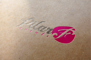 Diseño de logotipo Pilar F events