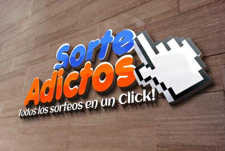 Diseño de Logotipo Sorteadictos