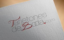 Diseño de Logotipo Tarjetones de Boda