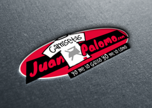 Diseño de logotipo Camisetas Juan Palomo
