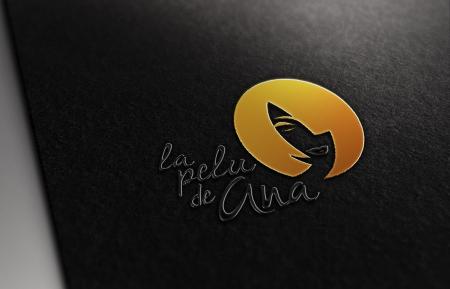 Diseño de Logotipo La Pelu de Ana