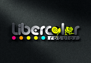 Diseño de Logotipo Liber color