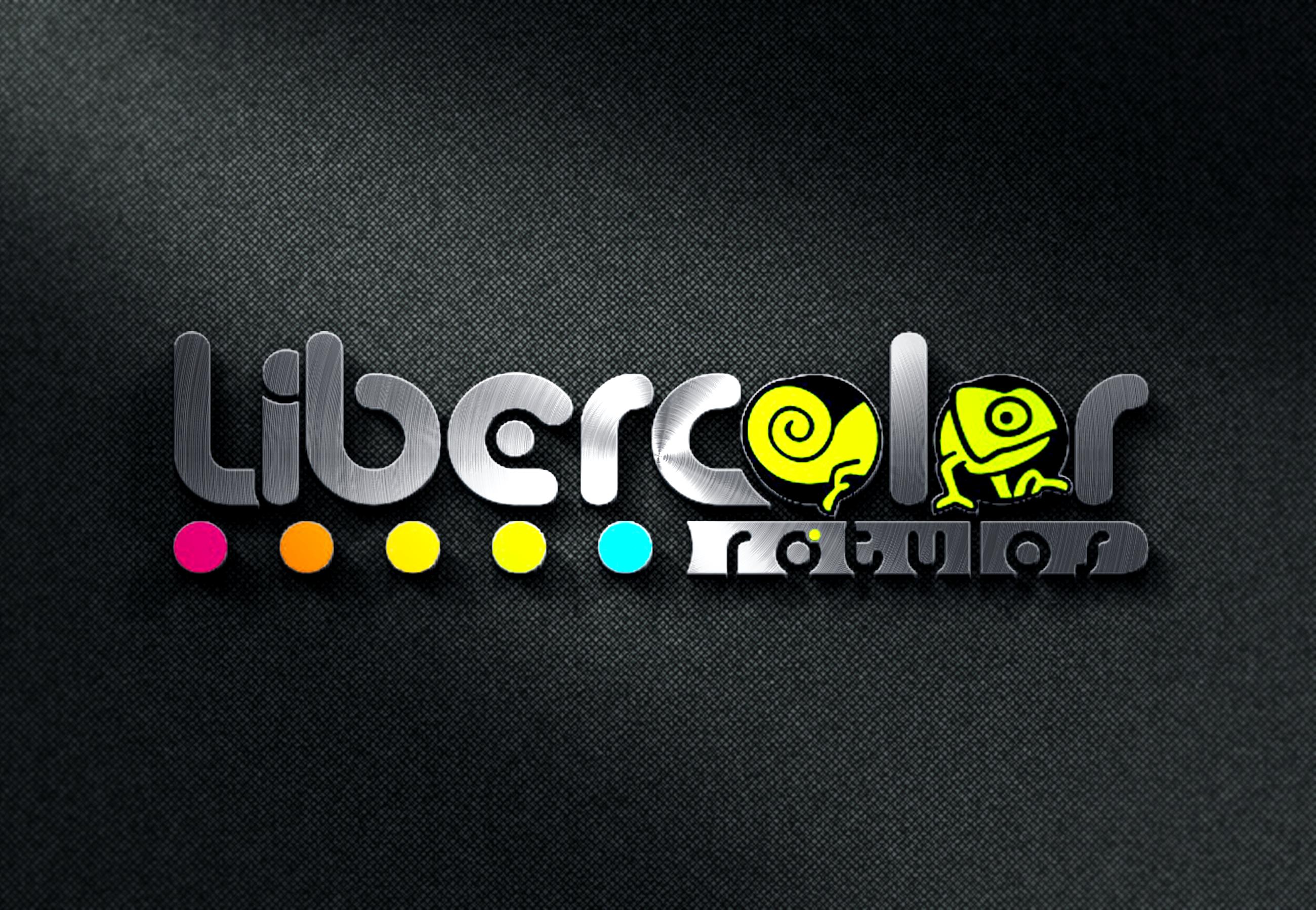 Diseño de Logotipo Liber color