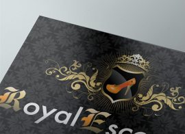 Diseño de Logotipo Royal escorts