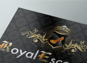 Diseño de logotipo Royal Escorts